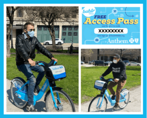 FREE Bublr Access Pass presented by Anthem